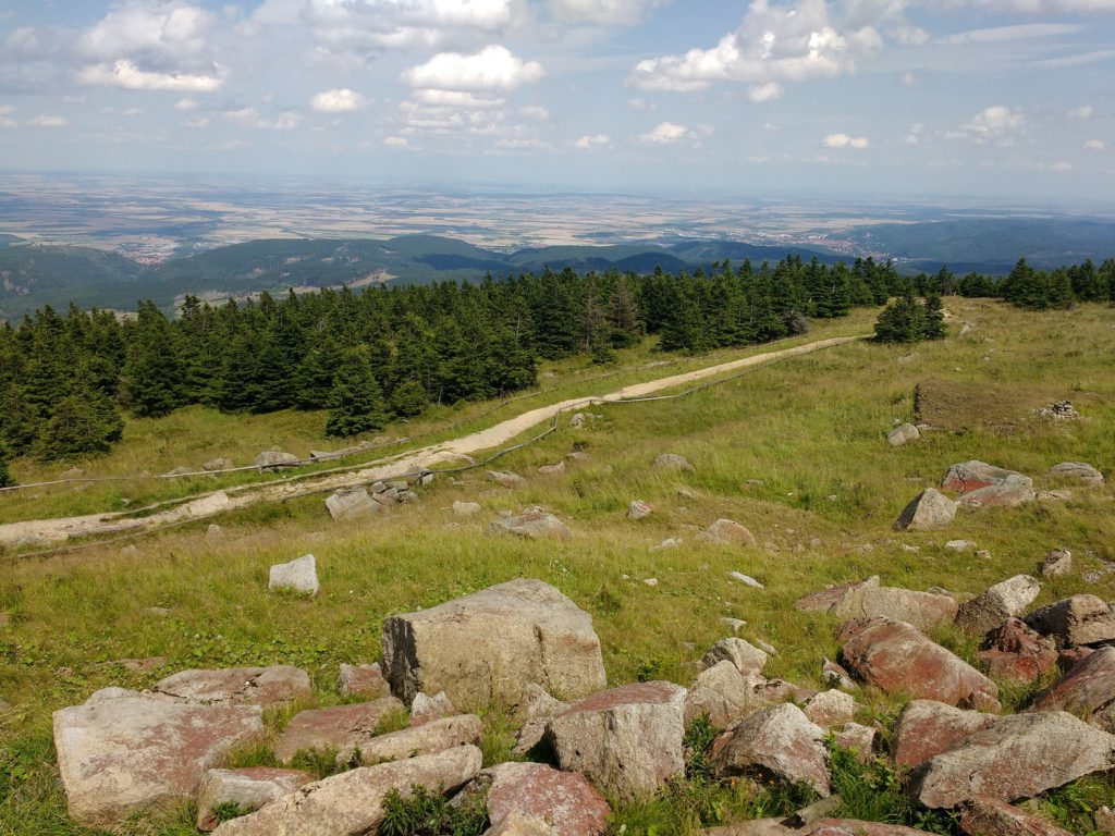 view brocken harz germany