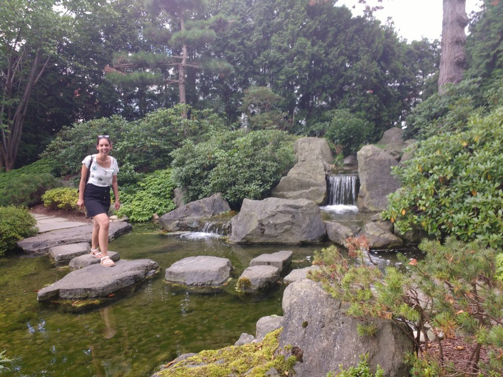 Bad langensalza Japanse tuin