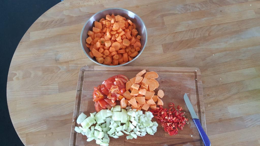 ingredienten wortelsoep